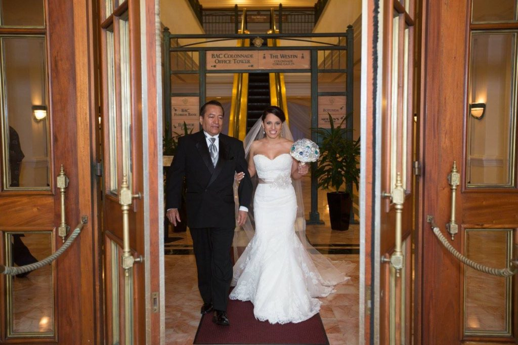OUR WEDDING DAY AT PLYMOUTH CONGREGATIONAL CHURCH AND HOTEL COLONNADE