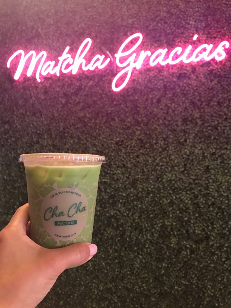THE BENEFITS BEHIND A CUP OF MATCHA